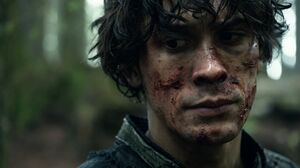 The100 S3 Fallen Bellamy
