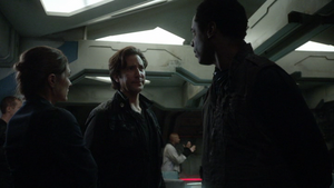 Twilight's Last Gleaming 059 (Abby, Kane, and Jaha)