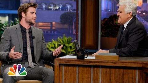 Liam Hemsworth On Jennifer Lawrence - The Tonight Show with Jay Leno