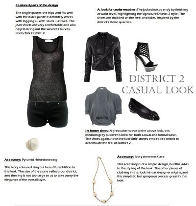 District 2 Casual Look