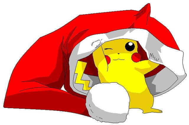 File:Pikachu Christmas by kotoko07.jpg
