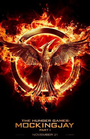File:The Hunger Games- Mockingjay Poster.jpg