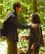 Katniss and RueStanding