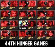 44 Hunger Games Chart Winner