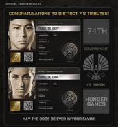 District 7 Tributes