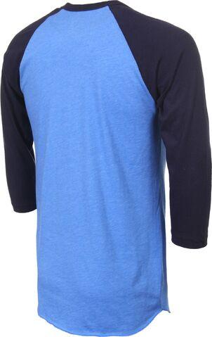 File:Poler-grizzly-raglan-3-4-sleeve-t-shirt-heather-lake-blue-navy-reverse.jpg