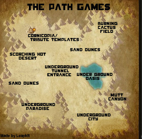 The Path Games Map