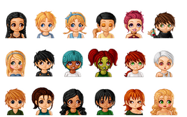 Hunger games characters by hez g-d4w806h