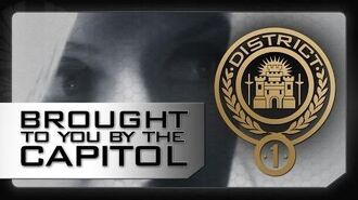 DISTRICT 1 - A Message From The Capitol - The Hunger Games Catching Fire (2013)