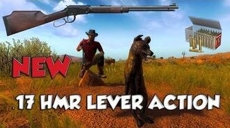 .17 HMR LEVER ACTION! *First Look* THEHUNTER2017