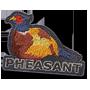 Pheasant badge