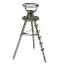 Large equipment tripod 256