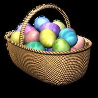 Easter basket festive