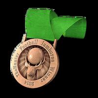 Football jamboree bronze
