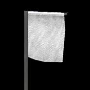 Marker flag white