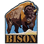 Bison badge