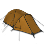 Large equipment heated tent orange