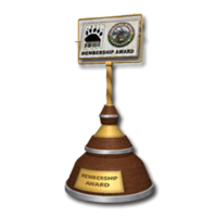 Trophy mem gold
