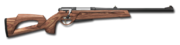 Bolt action rifle 223 wood 1024