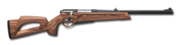 Bolt action rifle 223 wood 256
