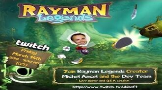 Let's Watch Michel Ancel's Rayman Legends Twitch Stream