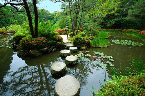 File:Rokuon-ji Temple gardens..jpg