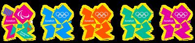 All London 2012 logos