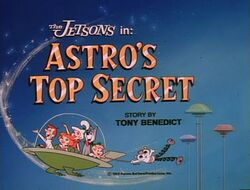 Astro's top secret title