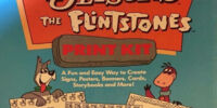 The Jetsons The Flintstones Print Kit