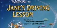 Jane's Driving Lesson