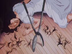 Sakura Gamo Attacked (Anime)