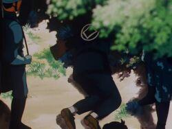 Saruhiko Senda's Dead Body (Anime)