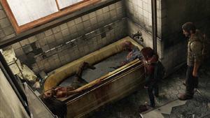 Hotel Creepy Bathtub