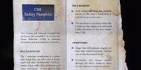 Medical Pamphlet