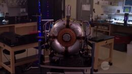 Particle accelerator model