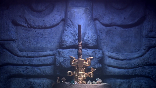 File:A piece of the Spear of Destiny in a Mayan temple.png