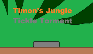 Timon's Jungle Tickle Torment Title