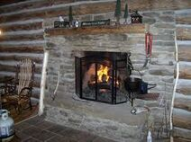 Cabin fire place