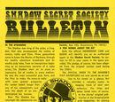 Shadow Secret Society Bulletin Vol 1
