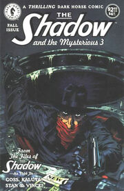 Shadow and the Mysterious 3 Vol 1 1