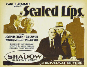 Sealed Lips (1931 Movie)