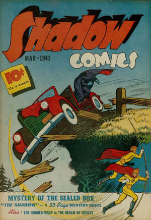 Shadow Comics Vol 1 9