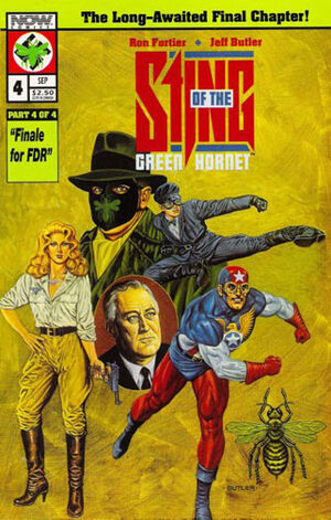 Sting of the Green Hornet Vol 1 4