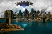 New york city invasion by joky153-d5es16s