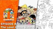 Episode 20 The Loud House Sisters Nick Animation Podcast