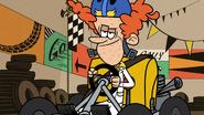 S2E15A Rusty riding a go-kart
