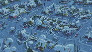 S1E24B the neighborhood covered in snow