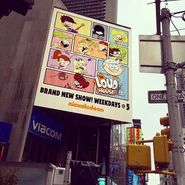 Loud House Times Square Billboard