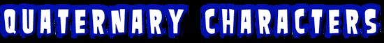 Quaternary-characters-header