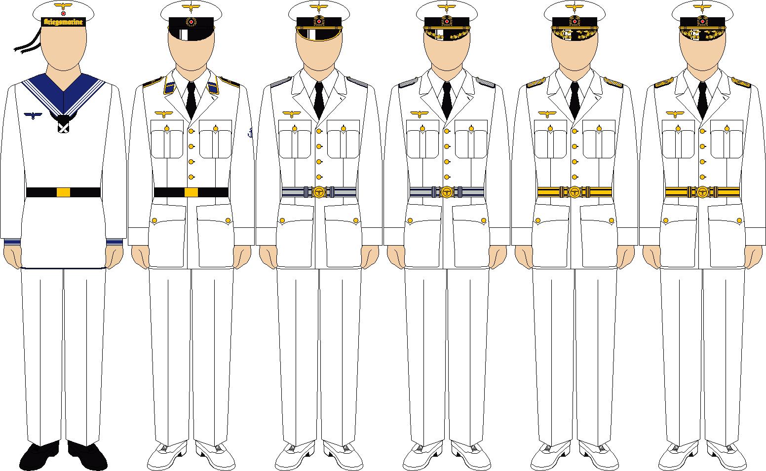 Kriegsmarine summer parade dress